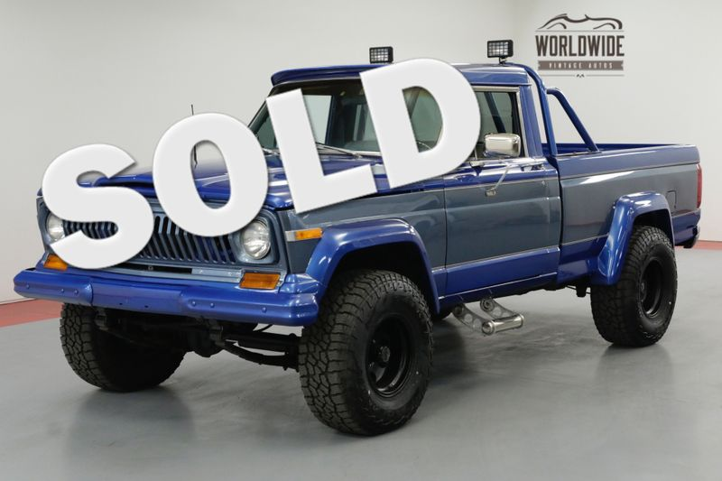 1978 Jeep J10 RESTORED. 1K MILES! AC! 4x4! RARE COLLECTOR | Denver, CO | Worldwide Vintage Autos