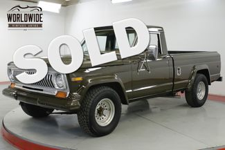 1978 Jeep J10 401 BIG BLOCK V8 POWDER COATED FRAME PS PB | Denver, CO | Worldwide Vintage Autos in Denver CO