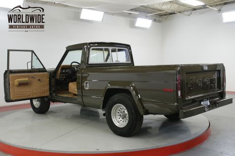 1978 Jeep J10 401 BIG BLOCK V8 POWDER COATED FRAME PS PB | Denver, CO | Worldwide Vintage Autos in Denver, CO