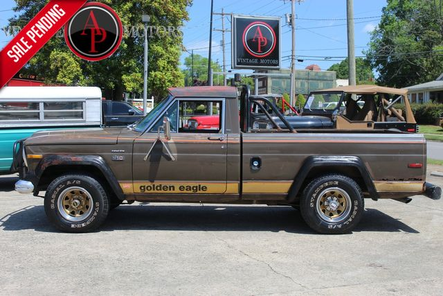 1978 Jeep J10 RARE GOLDEN EAGLE LEVI'S EDITION 360 V8