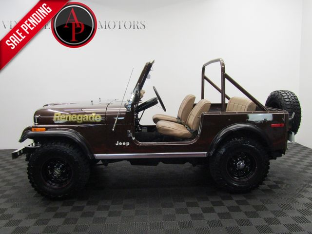 1978 Jeep CJ7 ONE OWNER ORIGINAL PAINT V8 4X4 PS PB