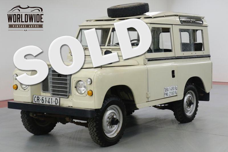 1978 Land Rover SANTANA CLASSIC  | Denver, CO | Worldwide Vintage Autos