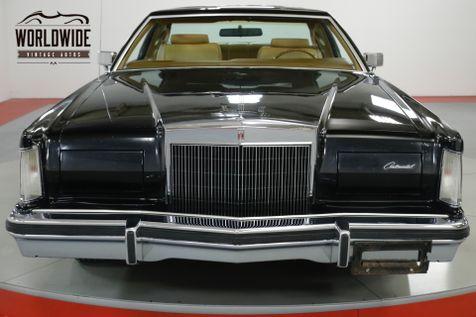1978 Lincoln CONTINENTAL MARK V LOW ORIG MILES CLEAN BUILD SHEET OPTIONED | Denver, CO | Worldwide Vintage Autos in Denver, CO