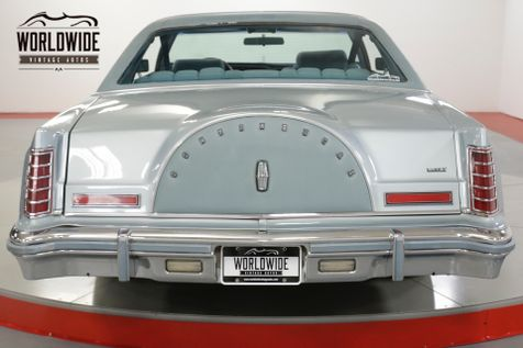 1978 Lincoln MARK V DIAMOND JUBILEE ONE OWNER! LOW MILES! AC!  | Denver, CO | Worldwide Vintage Autos in Denver, CO