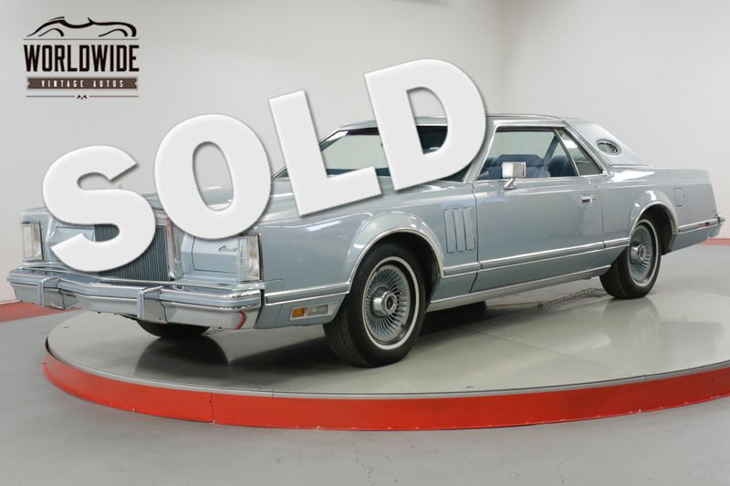 1978 Lincoln MARK V DIAMOND JUBILEE ONE OWNER! LOW MILES! AC!  | Denver, CO | Worldwide Vintage Autos