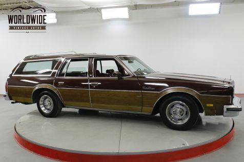 1978 Oldsmobile CUSTOM CRUISER  STATION WAGON WOODY 9 PASS 85K MI 1 OWNER | Denver, CO | Worldwide Vintage Autos in Denver, CO