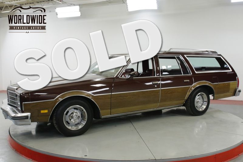 1978 Oldsmobile CUSTOM CRUISER  STATION WAGON WOODY 9 PASS 85K MI 1 OWNER | Denver, CO | Worldwide Vintage Autos