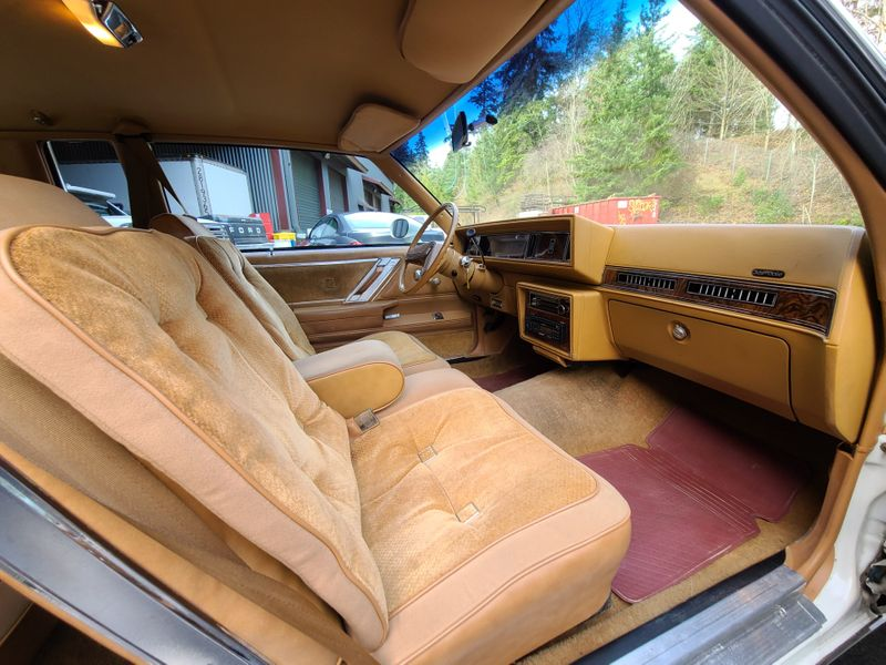 1978 Oldsmobile Cutlass Supreme Brougham Coupe 1 Owner 59000 Original Miles Local 1 Owner All Stock V8   city Washington  Complete Automotive  in Seattle, Washington