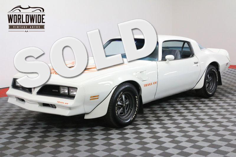 1978 Pontiac TRANS AM RESTORED! 400 V8 AUTO A/C MUST SEE! | Denver, CO | Worldwide Vintage Autos