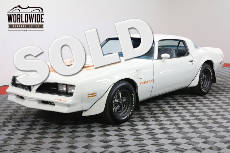 1978 Pontiac TRANS AM RESTORED! 400 V8 AUTO A/C MUST SEE! | Denver, CO | Worldwide Vintage Autos