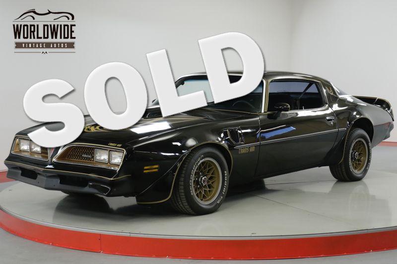 1978 Pontiac TRANS AM 6.6L V8 MOTOR SMOKEY AND THE BANDIT | Denver, CO | Worldwide Vintage Autos