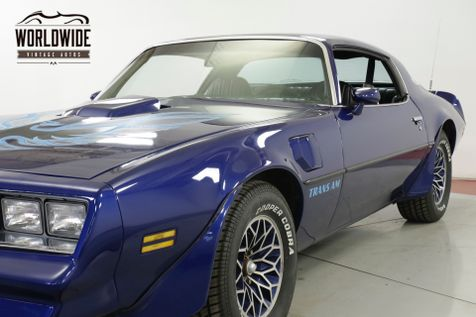1978 Pontiac TRANS AM 403V8 AUTOMATIC PS PB A/C LOW MILES MUST SEE  | Denver, CO | Worldwide Vintage Autos in Denver, CO