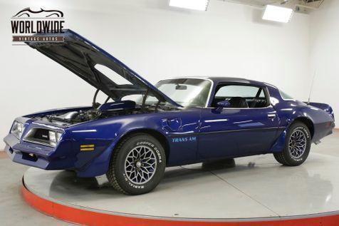 1978 Pontiac TRANS AM 403V8 AUTOMATIC PS PB A/C LOW MILES MUST SEE  | Denver, CO | Worldwide Vintage Autos in Denver, CO