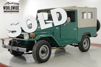 1978 Toyota LAND CRUISER FJ LAND CRUISER 4.2L I6 PS MANUAL | Denver, CO | Worldwide Vintage Autos in Denver CO