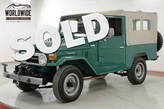 1978 Toyota LAND CRUISER FJ LAND CRUISER 4.2L I6 PS MANUAL | Denver, CO | Worldwide Vintage Autos in Denver CO