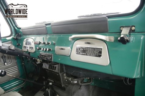 1978 Toyota LAND CRUISER FJ LAND CRUISER 4.2L I6 PS MANUAL   Denver, CO   Worldwide Vintage Autos in Denver, CO