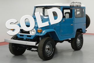 1978 Toyota LAND CRUISER FJ40 FRAME OFF RESTORATION RARE COLOR COLLECTOR | Denver, CO | Worldwide Vintage Autos in Denver CO