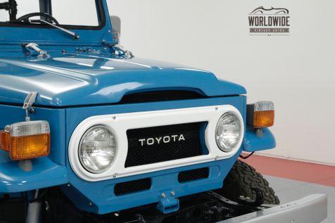 1978 Toyota LAND CRUISER FJ40 FRAME OFF RESTORATION RARE COLOR COLLECTOR | Denver, CO | Worldwide Vintage Autos in Denver, CO