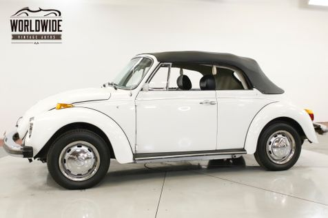 1978 Volkswagen BEETLE RESTORED CONVERTIBLE 10K MI RARE LATE PROD | Denver, CO | Worldwide Vintage Autos in Denver, CO