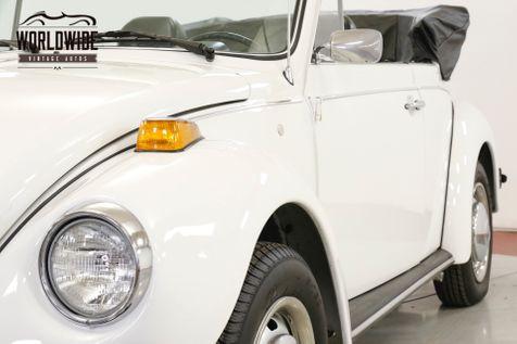 1978 Volkswagen BEETLE RESTORED CONVERTIBLE 10K MI RARE LATE PROD | Denver, CO | Worldwide Vintage Autos in Denver, CO