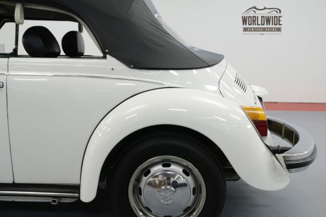 1978 Volkswagen BUG CONVERTIBLE 10K MILES LATE PRODUCTION | Denver, CO | Worldwide Vintage Autos in Denver, CO