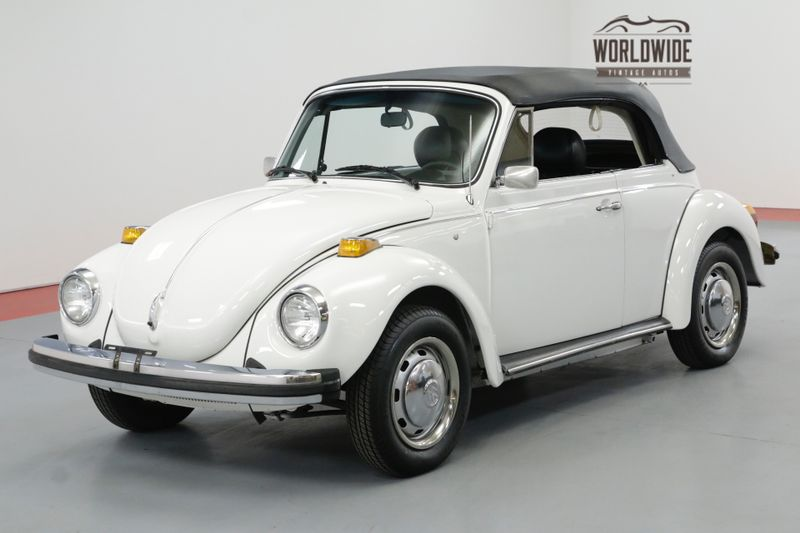1978 Volkswagen BUG CONVERTIBLE 10K MILES LATE PRODUCTION | Denver, CO | Worldwide Vintage Autos