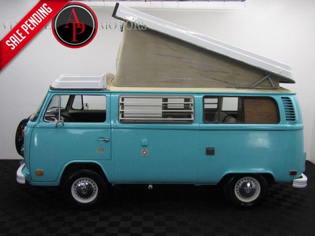 1978 Volkswagen VAN WESTFALIA CAMPMOBILE