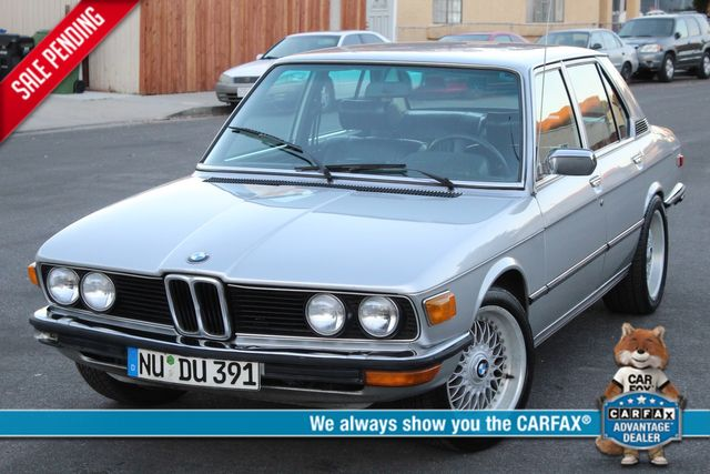 1979 BMW 528I SEDAN MANUAL XLNT CONDITION