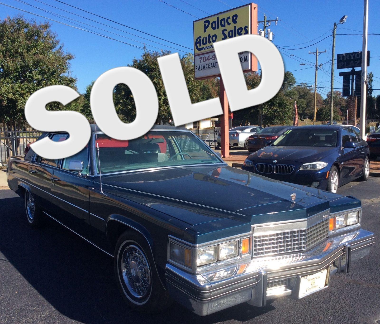 1979 Cadillac SEDAN DEVILLE 4DS city NC Palace Auto Sales