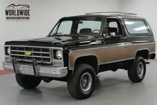 1979 Chevrolet BLAZER ONE OWNER! HEAVILY OPTIONED CONVERTIBLE 4x4  | Denver, CO | Worldwide Vintage Autos in Denver CO