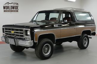 1979 Chevrolet BLAZER ONE OWNER! HEAVILY OPTIONED CONVERTIBLE 4x4    Denver, CO   Worldwide Vintage Autos in Denver CO