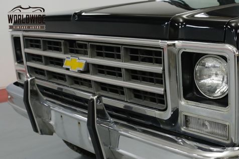 1979 Chevrolet BLAZER ONE OWNER! HEAVILY OPTIONED CONVERTIBLE 4x4  | Denver, CO | Worldwide Vintage Autos in Denver, CO