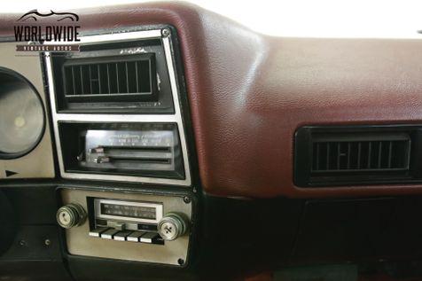 1979 Chevrolet BLAZER 1 OWNER! HEAVILY OPTIONED CONVERTIBLE 4x4 V8  | Denver, CO | Worldwide Vintage Autos in Denver, CO
