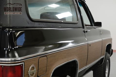 1979 Chevrolet BLAZER ONE OWNER! HEAVILY OPTIONED CONVERTIBLE 4x4 | Denver,  CO | Worldwide Vintage Autos | Denver CO 80216