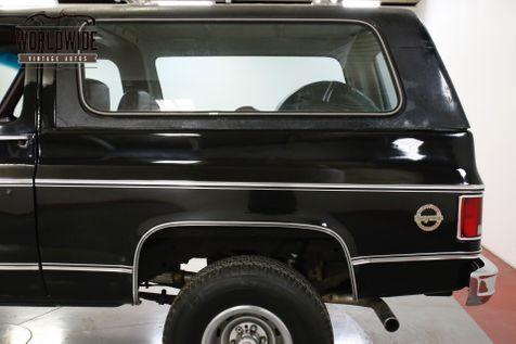 1979 Chevrolet BLAZER 1 OWNER! HEAVILY OPTIONED CONVERTIBLE 4x4 V8    Denver, CO   Worldwide Vintage Autos in Denver, CO