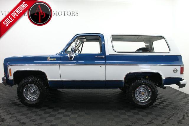 1979 Chevrolet BLAZER REMOVABLE HARD TOP 4X4 BEAUTIFUL