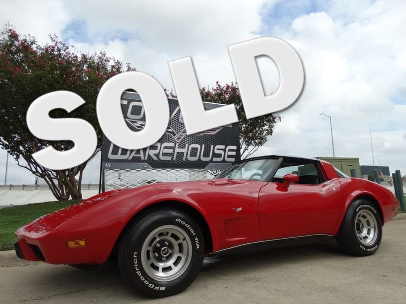 1979 Chevrolet Corvette  Coupe L-82, Auto, Glass T-Tops, Only 68k! | Dallas, Texas | Corvette Warehouse