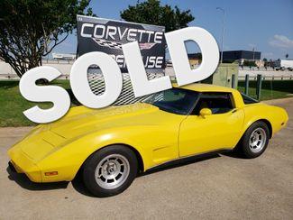1979 Chevrolet Corvette  Coupe Auto, T-Tops, Alloy Wheels 136k! | Dallas, Texas | Corvette Warehouse  in Dallas Texas
