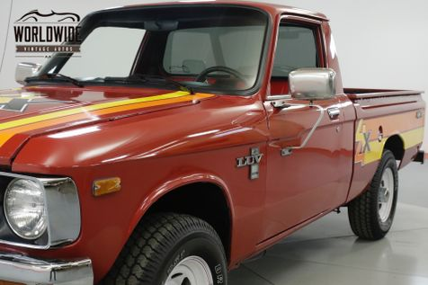 1979 Chevrolet LUV MIKADO. ULTRA RARE 4x4. COLLECTOR. MANUAL  | Denver, CO | Worldwide Vintage Autos in Denver, CO