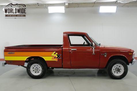 1979 Chevrolet LUV MIKADO. ULTRA RARE 4x4. COLLECTOR. MANUAL    Denver, CO   Worldwide Vintage Autos in Denver, CO