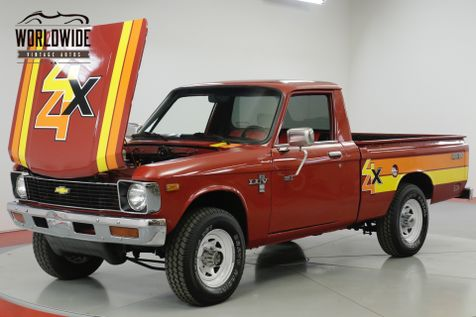 1979 Chevrolet LUV MIKADO. ULTRA RARE 4x4. COLLECTOR. MANUAL  | Denver, CO | Worldwide Vintage Autos in Denver, CO
