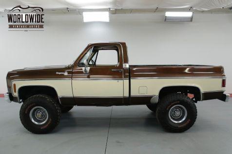 1979 Chevrolet TRUCK  CHEYENNE 4x4. 69K MILES! COLLECTOR AC V8  | Denver, CO | Worldwide Vintage Autos in Denver, CO