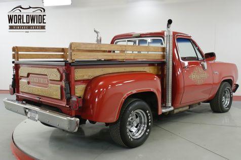 1979 Dodge LIL RED EXPRESS  ADVENTURER D150 RARE LOW PRODUCTION 77K MIl | Denver, CO | Worldwide Vintage Autos in Denver, CO