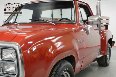 1979 Dodge LIL RED EXPRESS  ADVENTURER D150 RARE LOW PRODUCTION 77K MILES!   Denver, CO   Worldwide Vintage Autos in Denver, CO