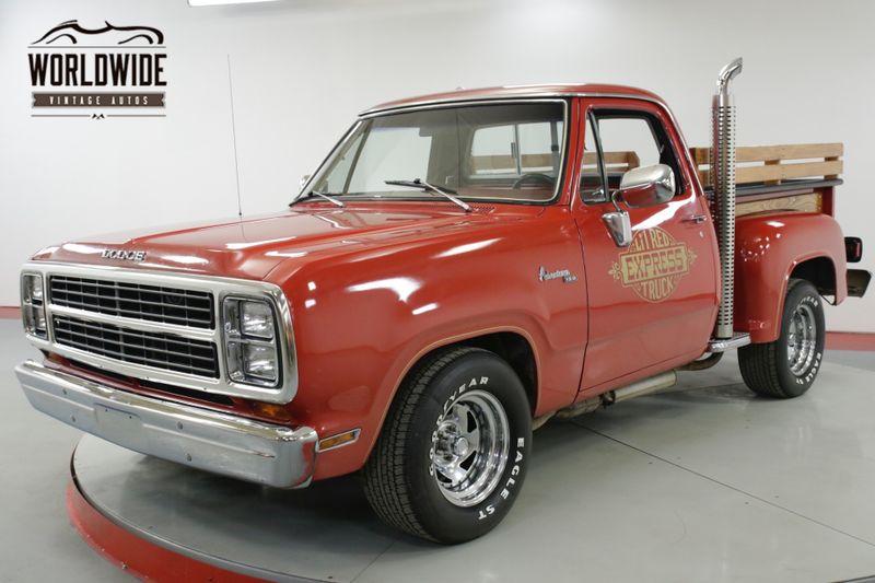 1979 Dodge LIL RED EXPRESS  ADVENTURER D150 RARE LOW PRODUCTION 77K MIl | Denver, CO | Worldwide Vintage Autos