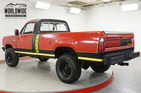 1979 Dodge POWER WAGON 360V8 4-SPEED 4BBL 4X4 PS PB MOPAR   Denver, CO   Worldwide Vintage Autos in Denver, CO
