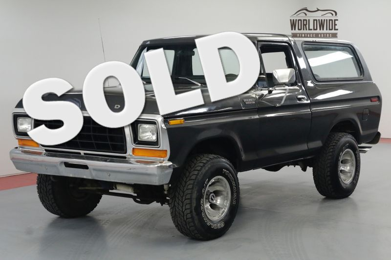1979 Ford BRONCO RARE 2ND GEN. REMOVABLE TOP. 351V8. 4X4. | Denver, CO | Worldwide Vintage Autos