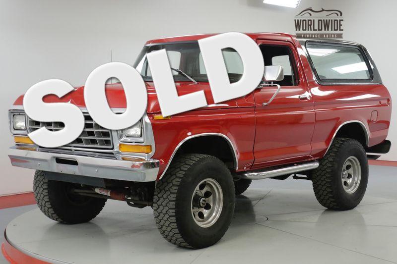 1979 Ford BRONCO  RESTORED. 5K MILES. 351 V8. LIFT. STUNNING  | Denver, CO | Worldwide Vintage Autos