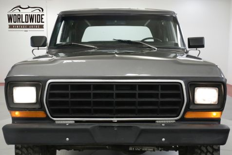 1979 Ford BRONCO  RARE SECOND GENERATION CONVERTIBLE MUST SEE   Denver, CO   Worldwide Vintage Autos in Denver, CO