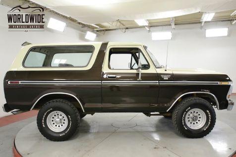1979 Ford BRONCO RANGER 400 V8 CONVERTIBLE. AUTO. RARE 4x4 | Denver, CO | Worldwide Vintage Autos in Denver, CO